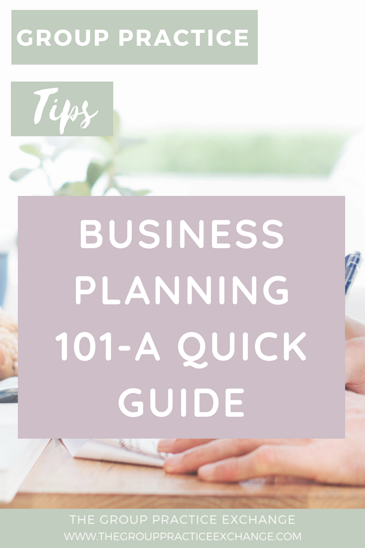 Business Planning 101-A Quick Guide