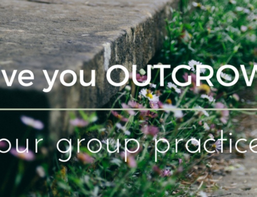Have Your Outgrown Your Group Practice?