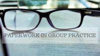 group practice paperwork