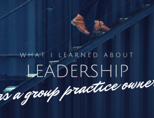 Leadership Lessons I Learned