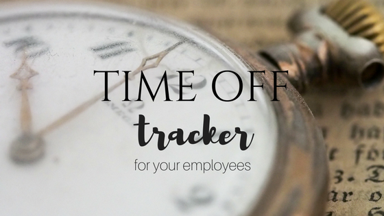 time off tracker