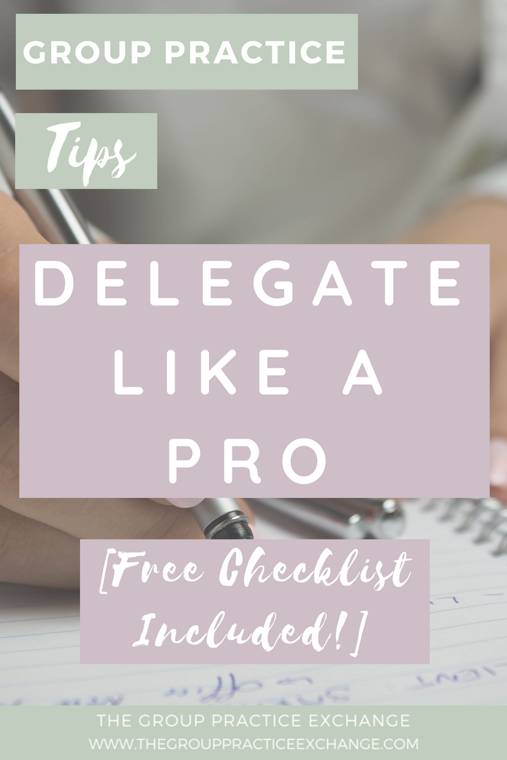 Delegate Like a Pro [Free checklist included]