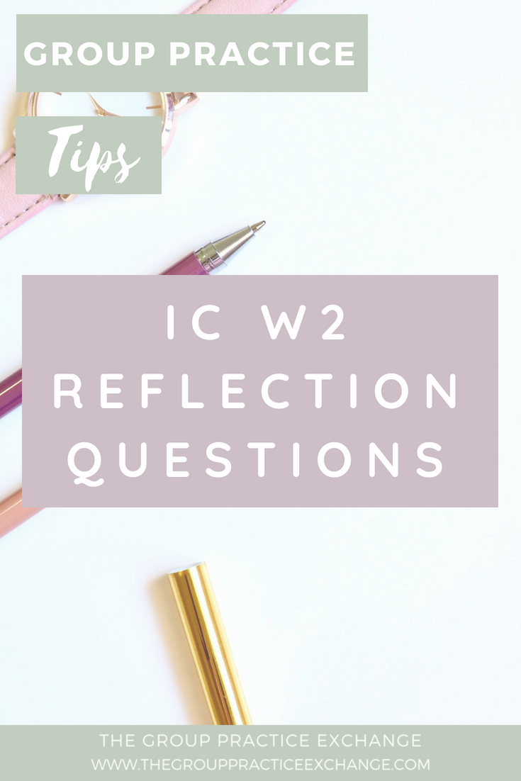 IC W2 Reflection Questions