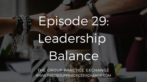 leadership balance