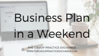 business plan in a weekend blog